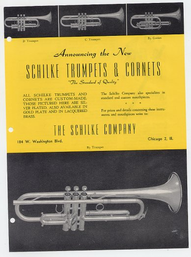 More About Schilke History and Brass Instruments | The